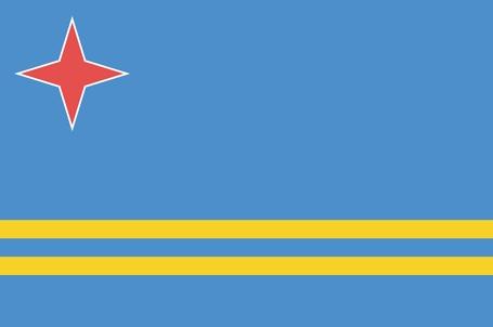 Aruba Flagge