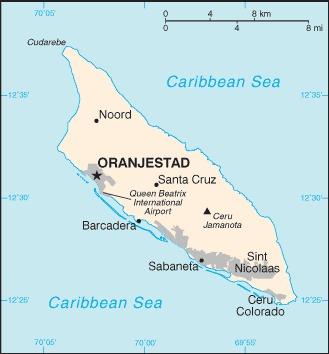 Aruba Karte